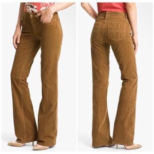 Tory Burch Classic Tory Boot Cut corduroy pants 28
